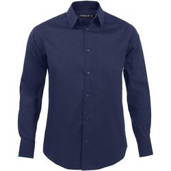 Vêtements Homme Chemises manches longues Sols BRIGHTON STRECH Azul