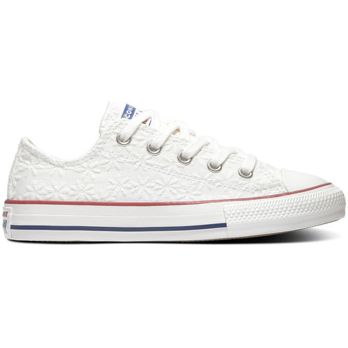 Chaussures Enfant Baskets basses Converse Chuck taylor all star ox Blanc