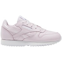 Chaussures Fille Baskets basses Reebok Sport Classic Leather Rose