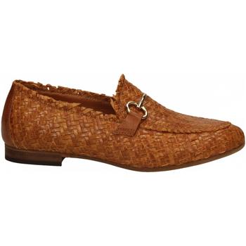 Chaussures Femme Mocassins Mat:20 LENNY INTRECCIO cuoio