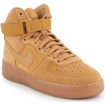 Chaussures Enfant Baskets montantes Producent Niezdefiniowany Nike Air Force 1 High LV8 3 (GS) CK0262-700 brązowy