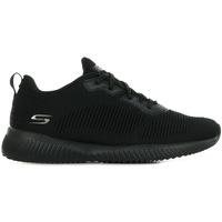 Chaussures Femme Baskets basses Skechers Bobs Squad noir