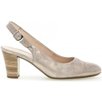 Chaussures Femme Escarpins Gabor Escarpin daim talon  block Rose