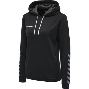 Vêtements Femme Ensembles de survêtement Hummel Sweatshirt femme  Authentic Poly noir/blanc