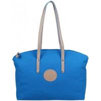 Sacs Femme Cabas / Sacs shopping Patrick Blanc Sac cabas L toile  Solo bleu