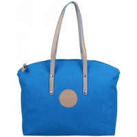 Sacs Femme Cabas / Sacs shopping Patrick Blanc Sac à main cabas M toile  Solo bleu