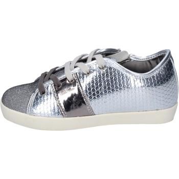 Chaussures Fille Baskets mode Enrico Coveri sneakers textile argenté