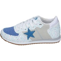 Chaussures Fille Baskets mode Enrico Coveri sneakers glitter bleu