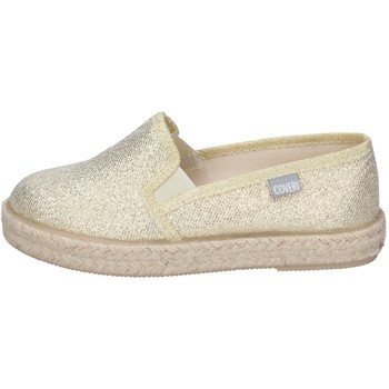 Chaussures Fille Slip ons Enrico Coveri slip on textile doré