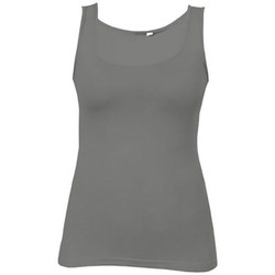 Vêtements Femme Débardeurs / T-shirts sans manche Promodoro Débardeur Jersey simple grandes tailles Femmes gris