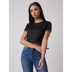 Vêtements Femme T-shirts manches courtes Project X Paris Tee Shirt Noir
