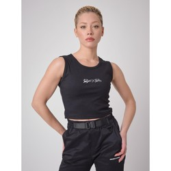 Vêtements Femme Débardeurs / T-shirts sans manche Project X Paris Débardeur Noir