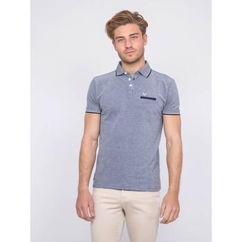Vêtements Homme Polos manches courtes Ritchie Polo pur coton PABEROL Bleu marine