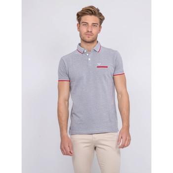 Vêtements Homme Polos manches courtes Ritchie Polo pur coton PABEROL Gris