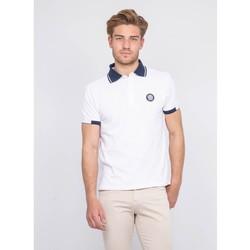 Vêtements Homme Polos manches courtes Ritchie Polo pur coton PAJUGE Blanc