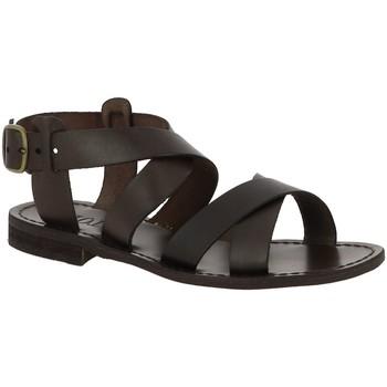 Chaussures Femme Sandales et Nu-pieds Iota RICCI MARRON