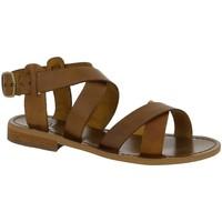 Chaussures Femme Sandales et Nu-pieds Iota RICCI CAMEL