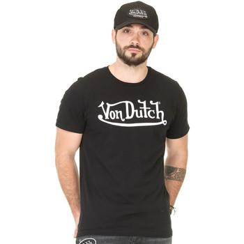 Vêtements Homme Débardeurs / T-shirts sans manche Von Dutch TSHIRT BEST NR BL Noir
