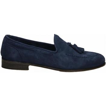 Chaussures Homme Mocassins J.p. David CAPRA SCAMOSCIATO azzurro