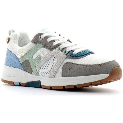Chaussures Femme Baskets basses Faguo Willow Blanc