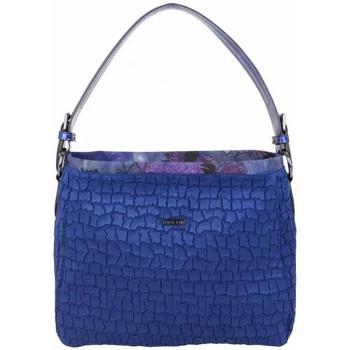 Sacs Femme Sacs porté épaule Patrick Blanc Sac seau  motif bleu marine Multicolor