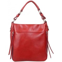 Sacs Femme Sacs porté main Bruno Rossi Sac seau hobo cuir souple  Z Rouge Multicolor