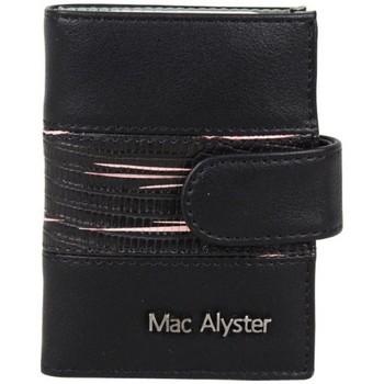 Sacs Femme Portefeuilles Mac Alyster Porte cartes bicolore  726A anti piratage RFID rose