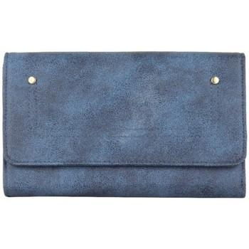 Sacs Femme Portefeuilles A Découvrir ! Grand portefeuille tout en un bleu marine vieilli Multicolor