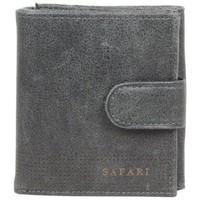 Sacs Homme Portefeuilles Safari Porte monnaie + porte cartes billets cuir vieilli  Lounge Gris