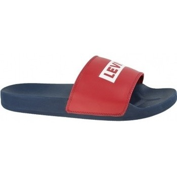 Chaussures Homme Claquettes Levi's Levis June Babytab bleu
