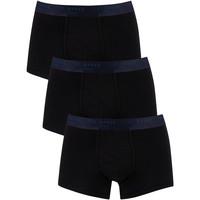 Sous-vêtements Homme Boxers Ted Baker Pack de 3 troncs noir