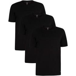 Vêtements Homme T-shirts manches courtes Ted Baker Paquet de 3 t-shirts ras du cou noir