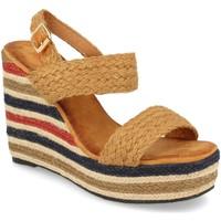 Chaussures Femme Sandales et Nu-pieds Milaya 5R8 Camel