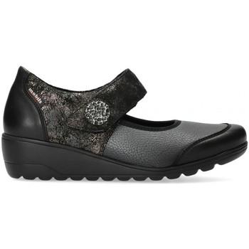 Chaussures Femme Ballerines / babies Mephisto Ballerine nubuck BATHILDA Noir