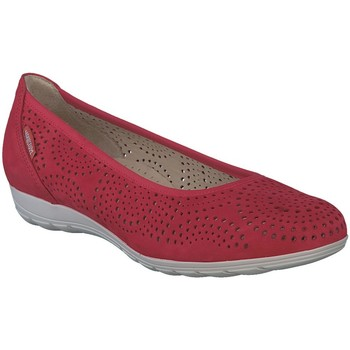 Chaussures Femme Ballerines / babies Mephisto Ballerine cuir ELSIEPERF Rouge