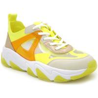 Chaussures Femme Baskets basses Bugatti Ceyda jaune