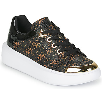 Chaussures Femme Baskets basses Guess BRANDYN Marron