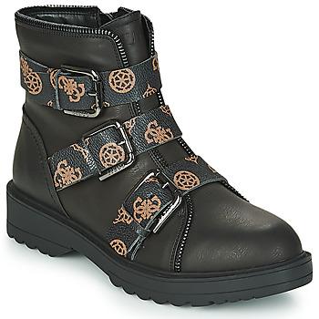 Chaussures Femme Boots Guess WENDY Noir