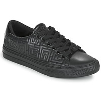 Chaussures Femme Baskets basses Guess GOLDENN Noir