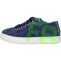 Chaussures Garçon Baskets basses Falcotto - Sneaker blu ALANIS-1C90 BLU