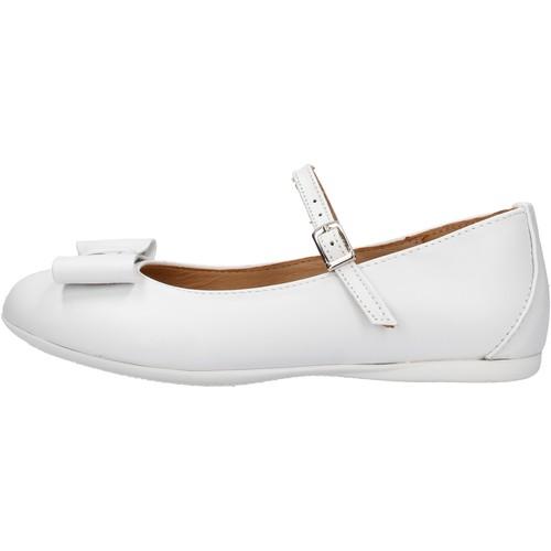 Chaussures Fille Baskets mode Platis - Ballerina bianco P2077-10 BIANCO