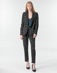 Vêtements Femme Pantalons fluides / Sarouels Ikks BR22125 Noir