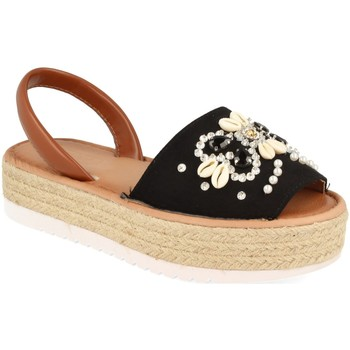 Chaussures Femme Sandales et Nu-pieds H&d WH-67 Negro