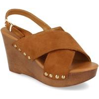 Chaussures Femme Cassis Côte dAz Prisska Y5627 Camel