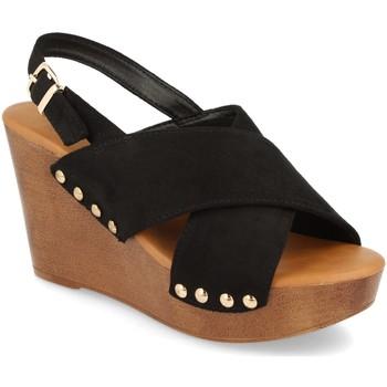 Chaussures Femme Sandales et Nu-pieds Prisska Y5627 Negro