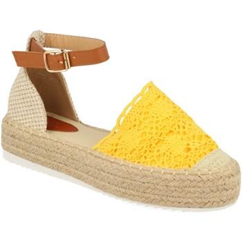 Chaussures Femme Espadrilles H&d YT30 Amarillo