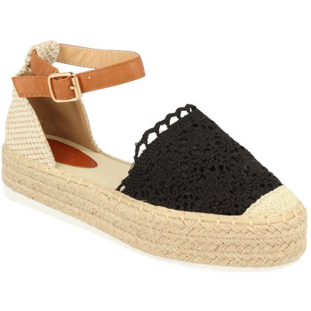 Chaussures Femme Espadrilles H&d YT30 Negro
