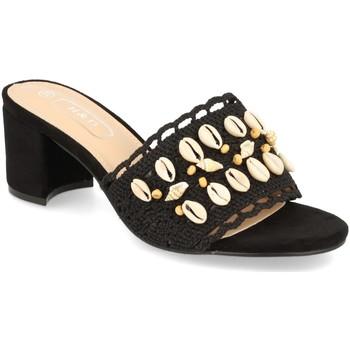 Chaussures Femme Mules H&d YZ19-150 Negro