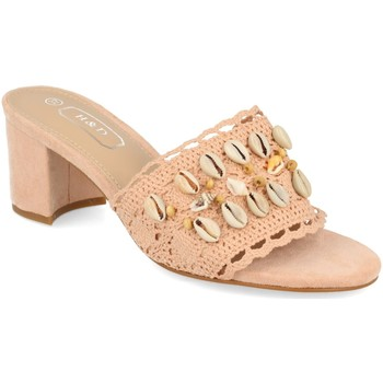 Chaussures Femme Mules H&d YZ19-150 Rosa