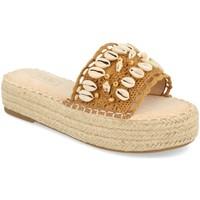 Chaussures Femme Sandales et Nu-pieds H&d YZ19-171 Camel